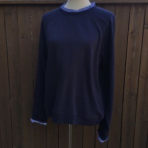 J. Crew | New w/ Tags Navy Preppy Sweater Size XL